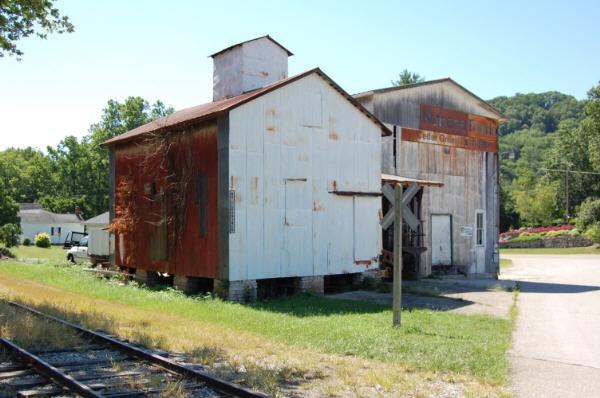 Casper Fohl's flour mill Cedar Grove, IN 8-07-'08 wr