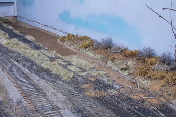 Yard track gone