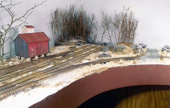 Initial scenery around the mill