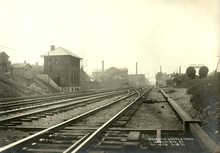 Photo dated 18 March, 1921. Same location.