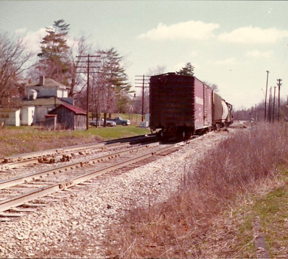 Yard engine in the 1970s