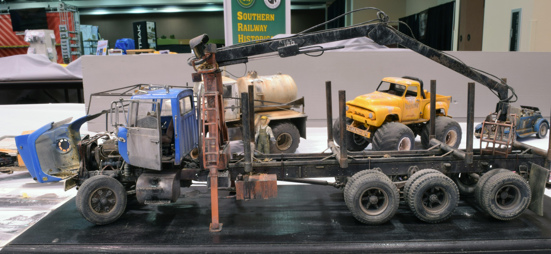 Steve Hurts Logging truck